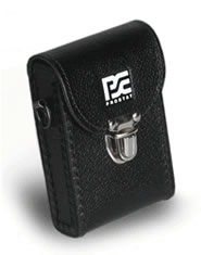 PCS-715 CASE Black Leather Case