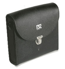 PGC-821 CASE Black Leather Case